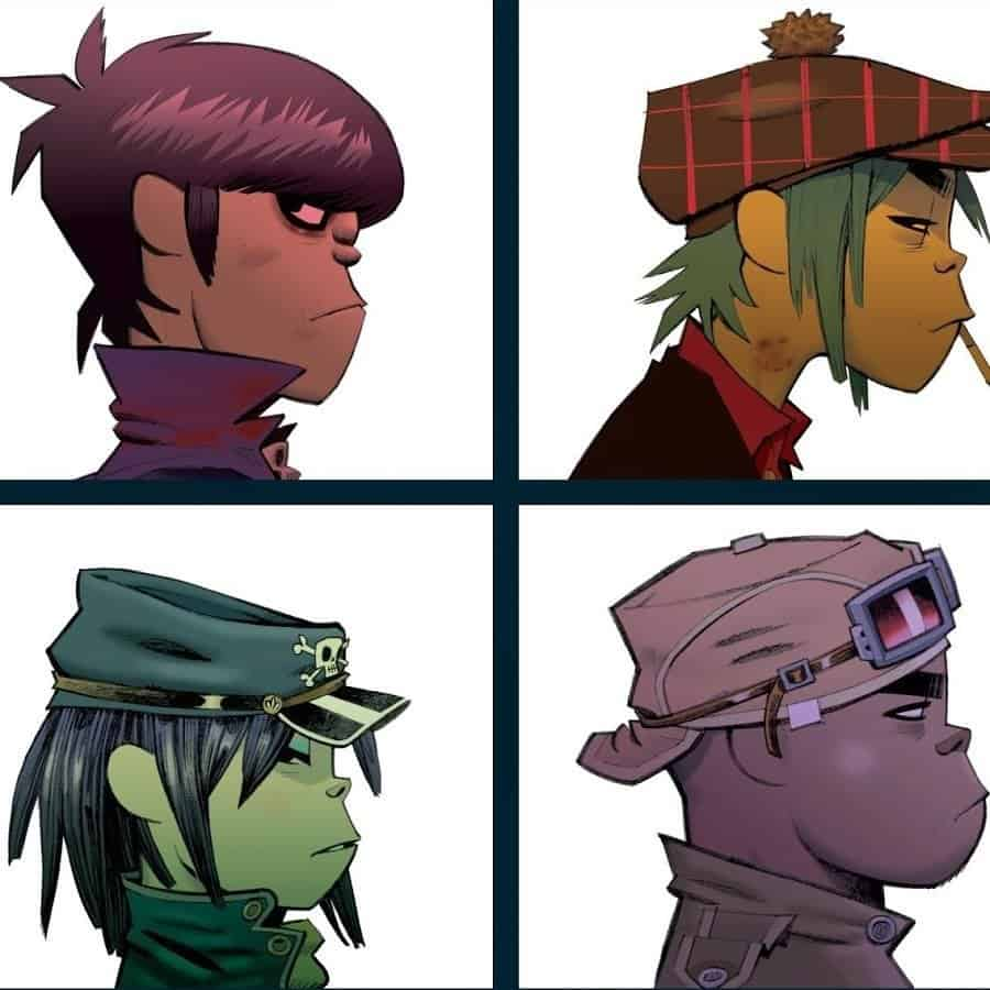 Gorillaz - Collection 2001-2012