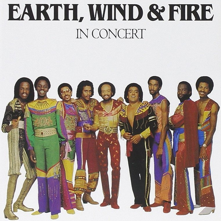 Earth, Wind & Fire- In Concert