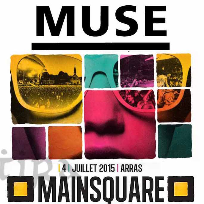 Muse | Concert Drones Festivals Tour: Live at Main Square Festival '15