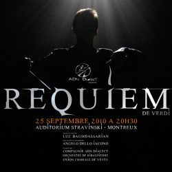 Requiem – Giuseppe Verdi – Montreux – Samstag 25. September 2010 – Angel ...
