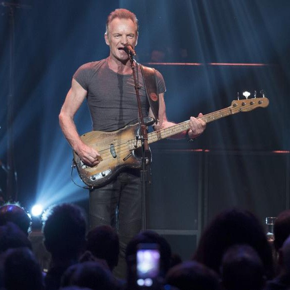 Sting | Concert at the Bataclan '16