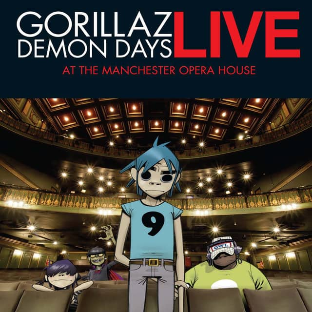 Gorillaz - Demon Days Live 2006