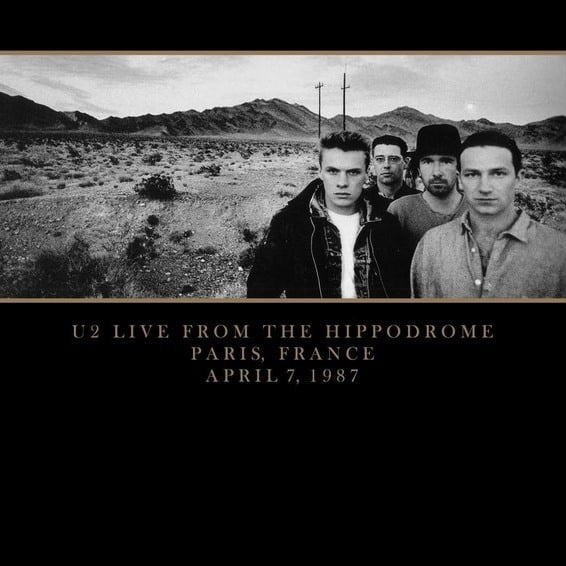 U2 -Live From Paris '87