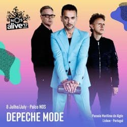 Depeche Mode | Konzert Global Spirit Tour: NOS Alive! '17