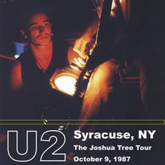 U2 - Concert The Joshua Tree Tour- Live from Syracuse 1987