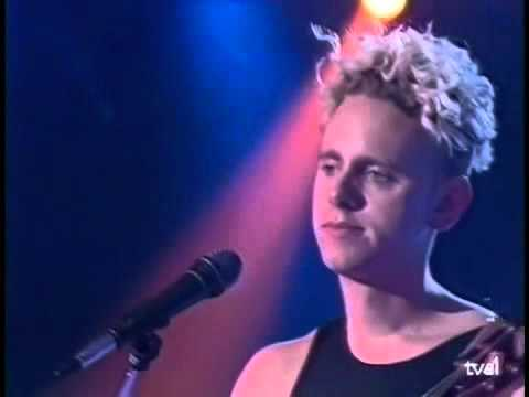 DEPECHE MODE Enjoy the silence (tv show) – YouTube