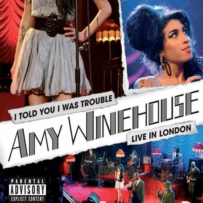 Amy Winehouse - Concert I Told You I Was Trouble- Live in London 2007