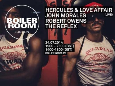 Hercules & Love Affair - Concert Live Set at Boiler Room 2014