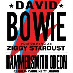 David Bowie | Konzert Ziggy Stardust Tour: Ziggy Stardust and the Spiders from Mars '73