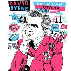 David Byrne | Konzert American Utopia Tour: Live at Lollapalooza Chile '18