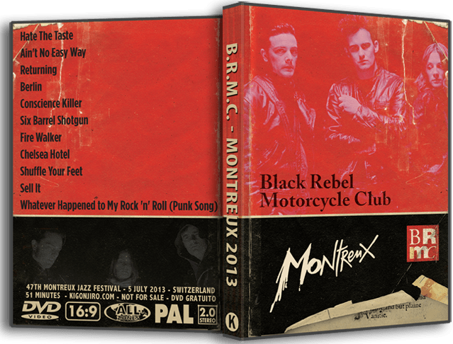 Motorcycle Club BRMC - Montreux 2013