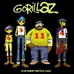 Gorillaz | Konzert Escape to Plastic Beach Tour: Live @ Glastonbury Festival '10