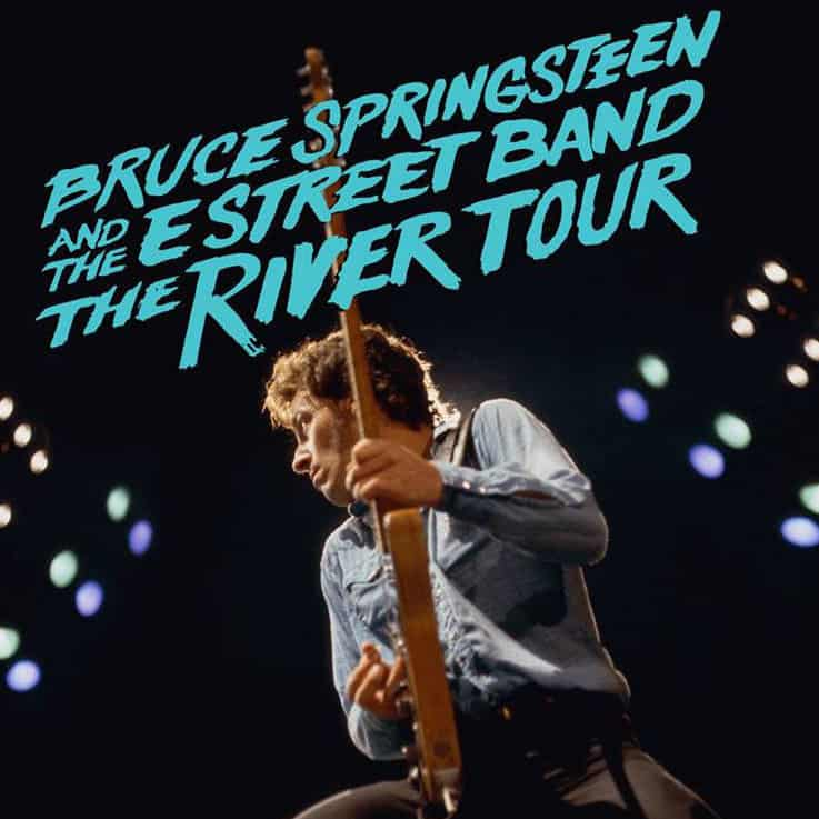 Bruce Springsteen & the E Street Band - Concert The River Tour: Tempe 1980