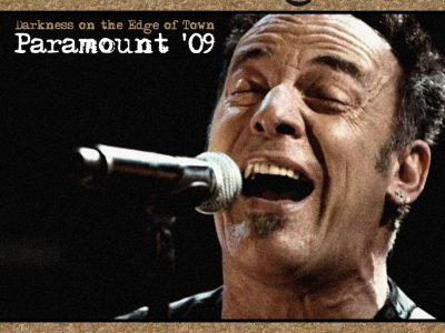 Bruce Sprinsteen & The E Street Band - Concert Darkness on the Edge of Town- Paramount Theatre, Asbury Park 2009