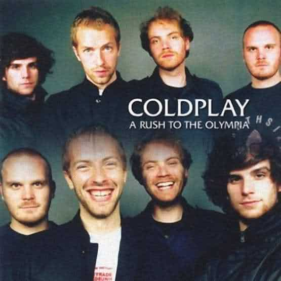 Coldplay - Concert A Rush of Blood to the Head Tour- A Rush of Blood to the Olympia Paris 2002
