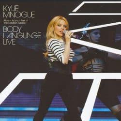 Kylie Minogue | Konzert Body Language Tour: Money Can't Buy '03