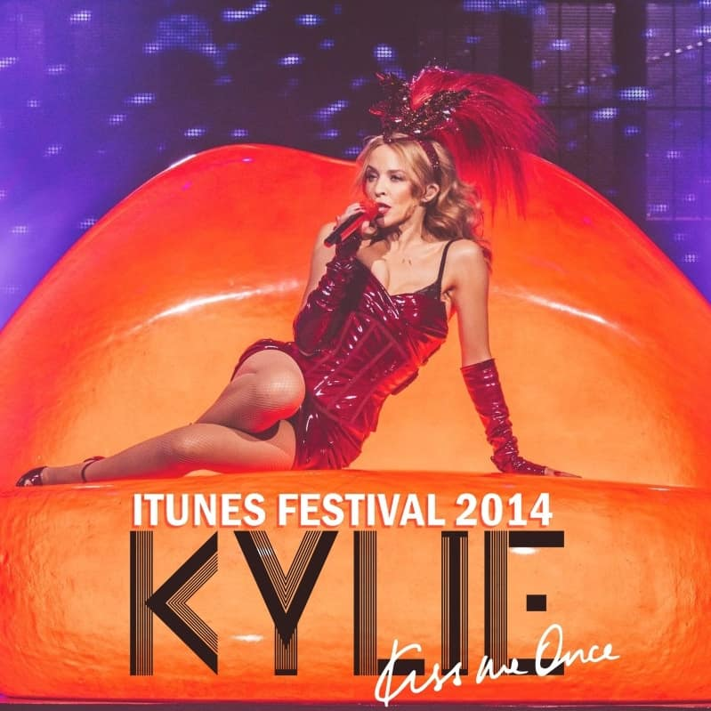 Kylie Minogue - Concert Kiss Me Once Tour- Live @iTunes Festival 2014