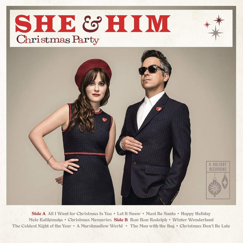 She & Him | Christmas Party – 2016