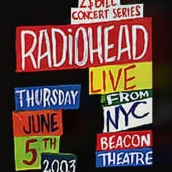 Radiohead | Concert Hail to the Thief Tour: MTV $2 Bill '03 | +15
