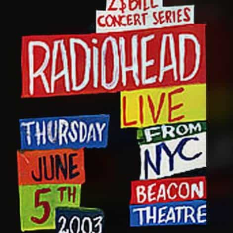 Radiohead | Concert Hail to the Thief Tour: MTV $2 Bill '03 | 15+