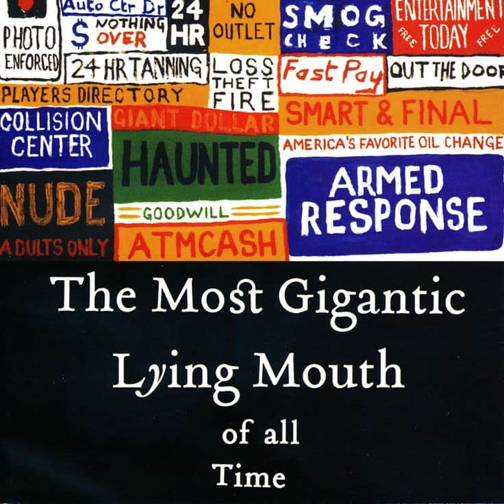 Radiohead - The Most Gigantic Lying Mouth of All Time - 2004