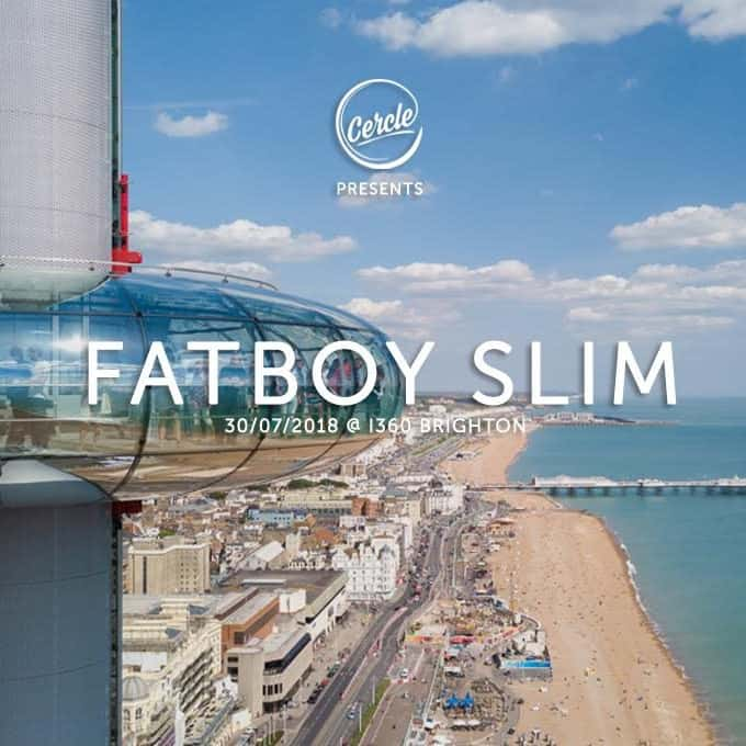 Fatboy Slim - Concert at British Airways i360 for Cercle '18