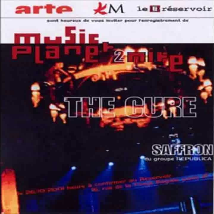 The Cure - Concert Live @ Le Reservoir Paris 2001