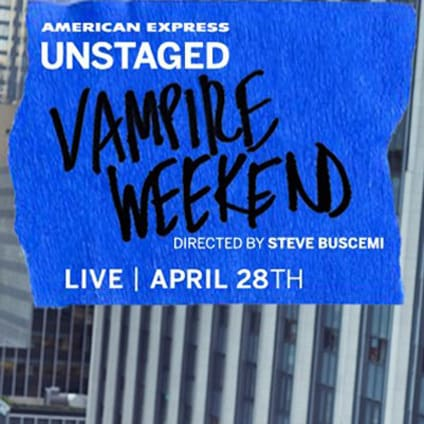 Vampire Weekend - Concert Amex Unstaged 2013