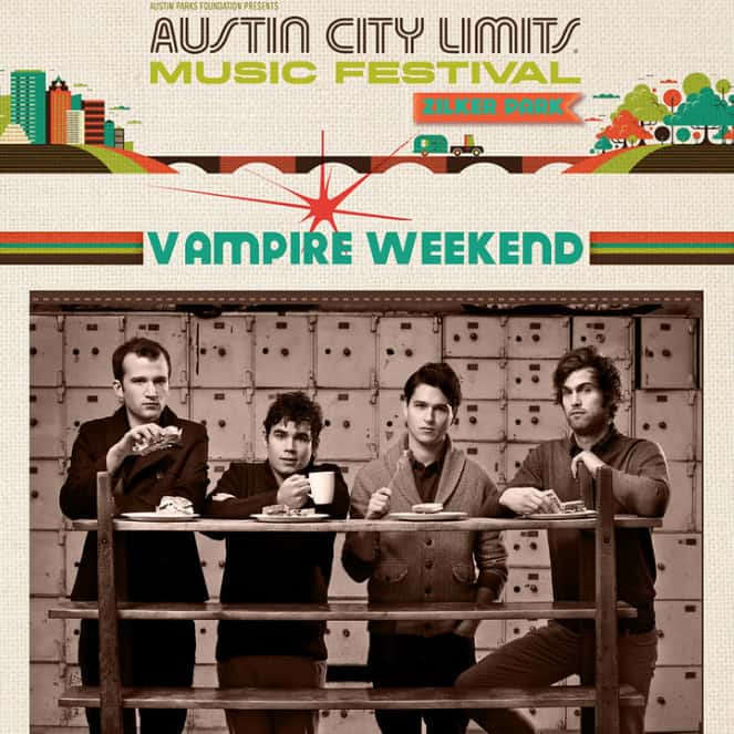 Vampire Weekend | Concert Modern Vampires of the City Tour: Live at Austin City Limits Festival '13