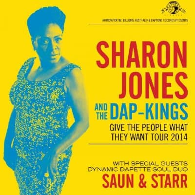 Sharon Jones & the Dap Kings 2014