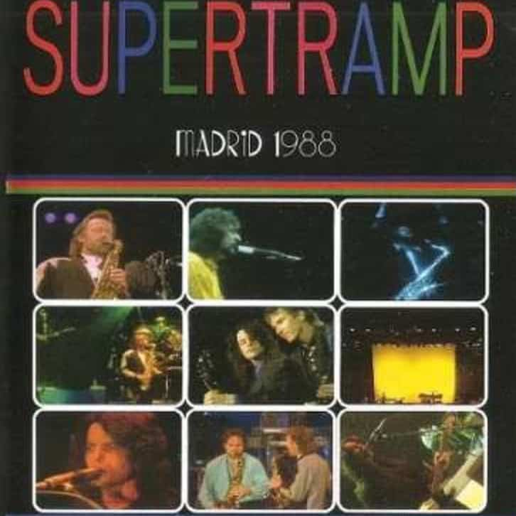 Supertramp - Concert World Migration Tour- Live in Madrid 1988