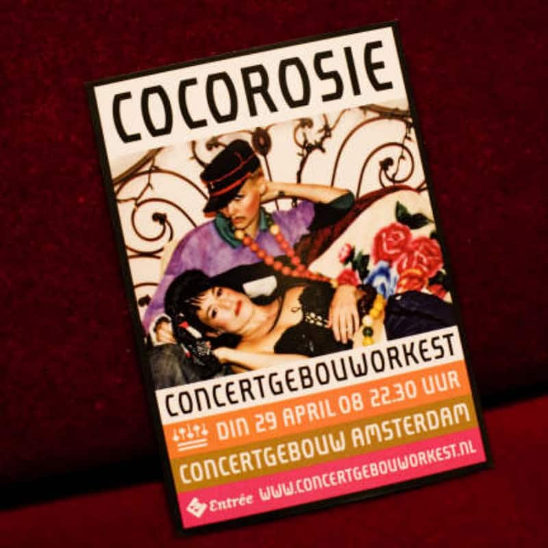 CocoRosie - Concert The Adventures of Ghosthorse and Stillborn Tour- Live @ Koninklijk Concertgebouw Orkest 2008