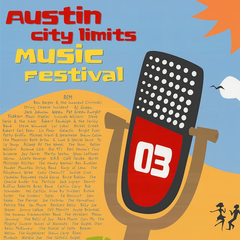 Austin City Limits Music Festival 2003