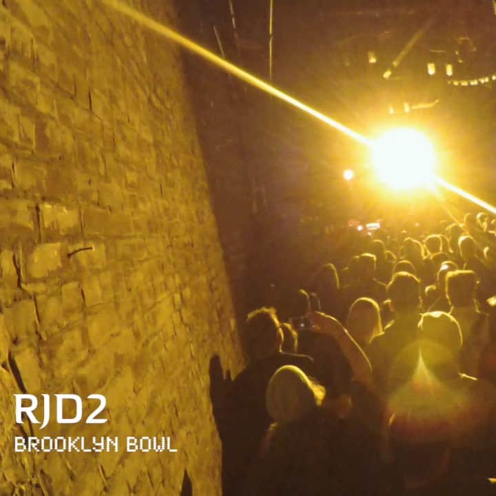 RJD2 - Concert Dame Future Tour- Live @ Brooklyn Bowl 2017