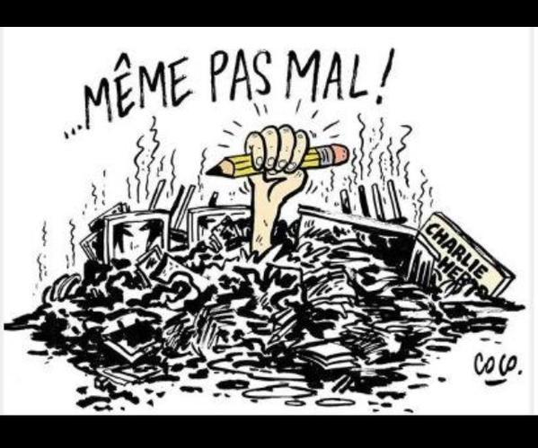 Arson at Charlie Hebdo : « Not Even Hurt ! » – Coco