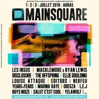 Main Square Festival | '16 | 13th | July, 1st – 3rd