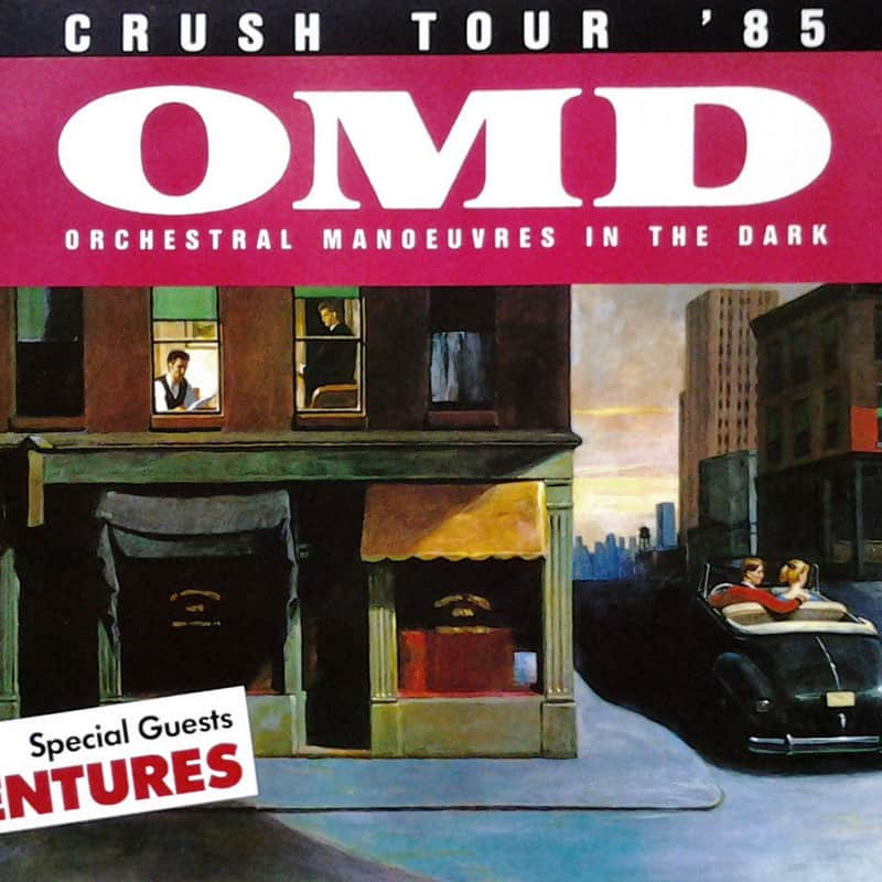 OMD - Concert Crush Tour- Live at Sheffield City Hall 1985