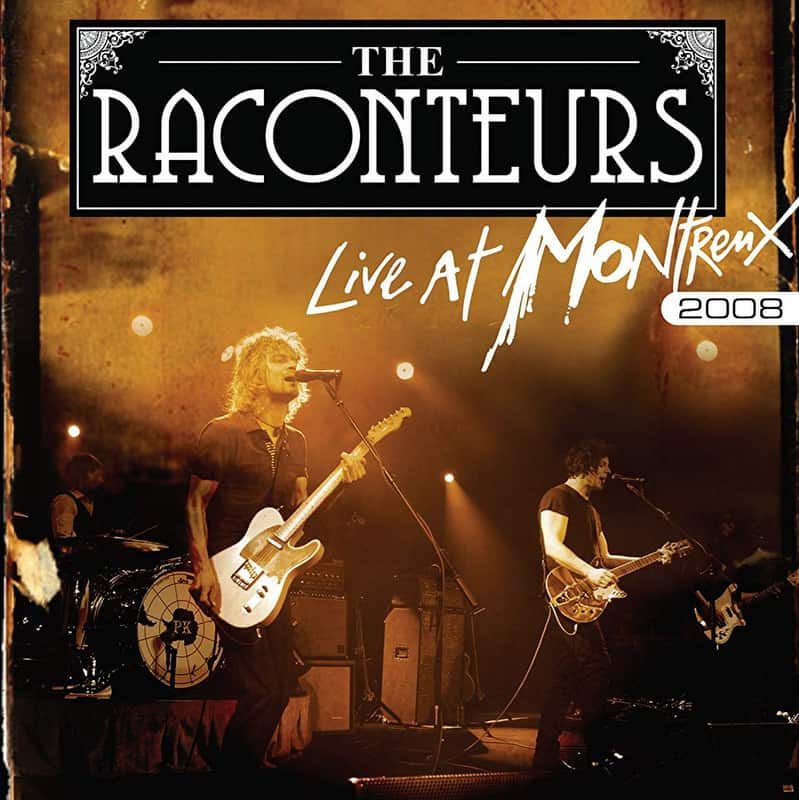 The Raconteurs - Concert Live at Montreux Jazz Festival 2008