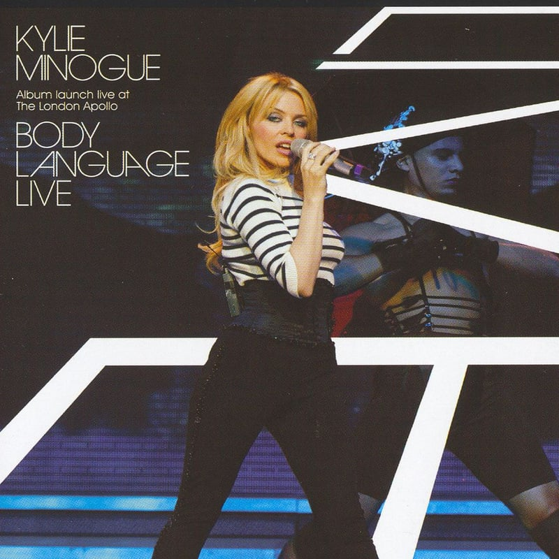 Kylie Minogue - Concert Body Language Tour - 2003