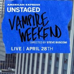 Vampire Weekend | Concert Modern Vampires of the City Tour: Amex Unstaged '13