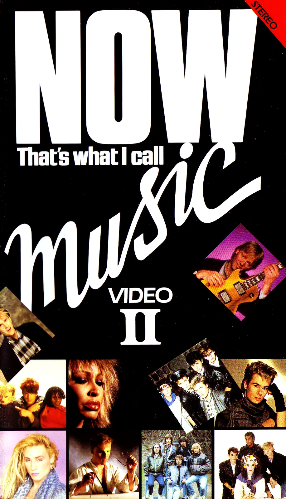 Now That's What I Call Music, Vol. 002 - 1984 - VHS - Recto