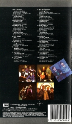 Now That's What I Call Music, Vol. 002 - 1984 - VHS - Verso