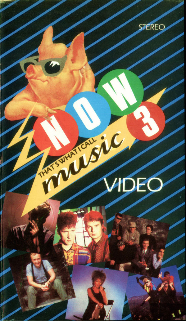 Now That's What I Call Music, Vol. 003 - 1984 - VHS - Recto - Long