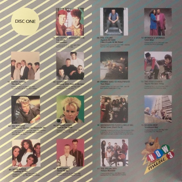Now That's What I Call Music, Vol. 003 - 1984 - CD - Verso 1-2
