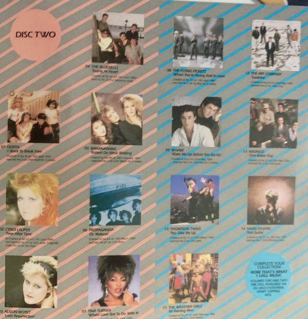 Now That's What I Call Music, Vol. 003 - 1984 - CD - Verso 2-2