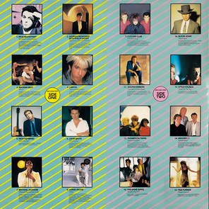 Now That's What I Call Music, Vol. 004 - 1984 - LP - Verso 1-2