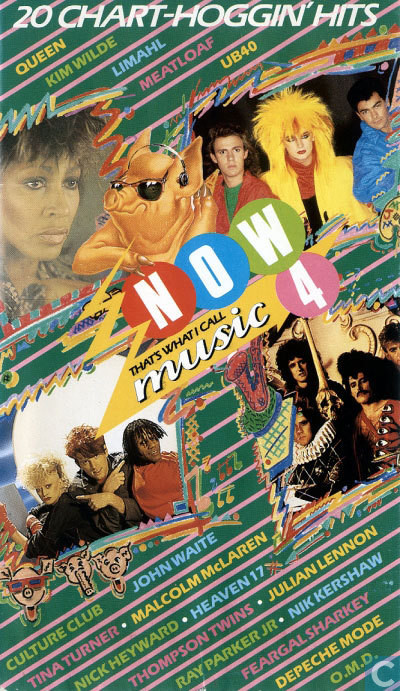 Now That's What I Call Music, Vol. 004 - 1984 - VHS - Recto - Long