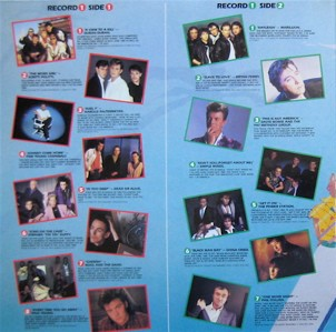 Now That's What I Call Music, Vol. 005 - 1985 - LP - Verso 1-2