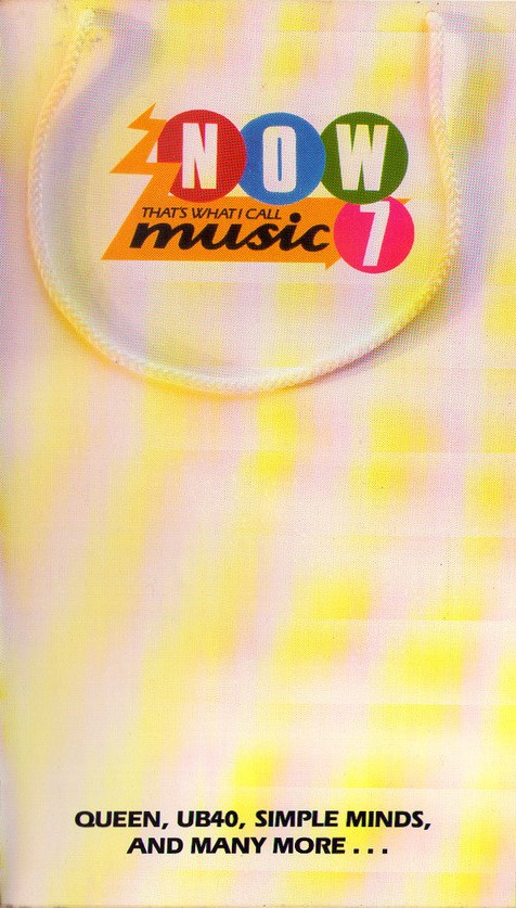 Now That's What I Call Music, Vol. 007 - 1986 - VHS - Recto - Long